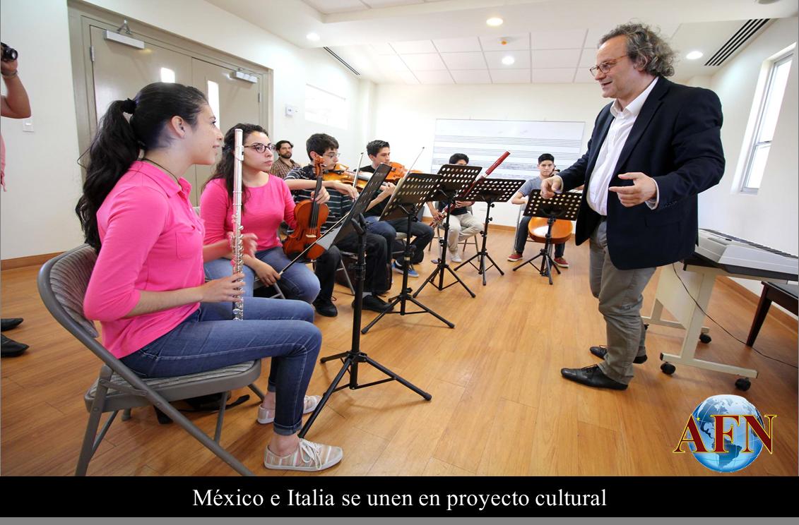 México e Italia se unen en proyecto cultural