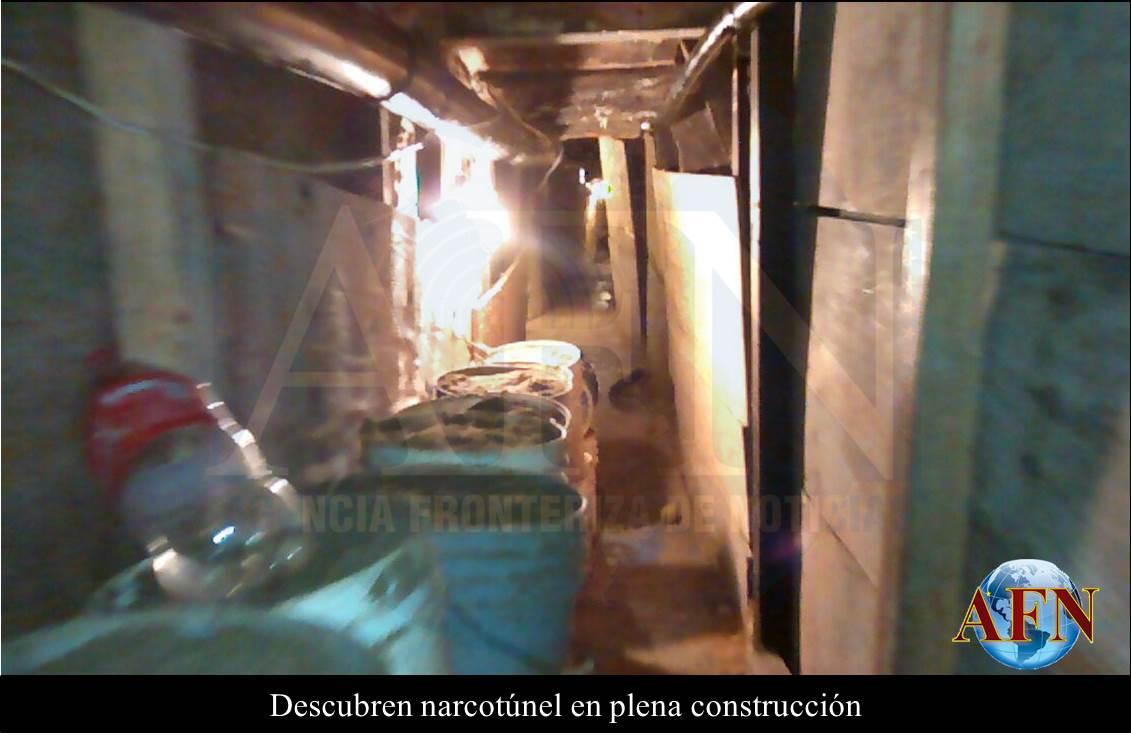 Descubre PGR un narcotúnel