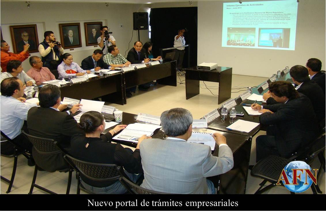 Nuevo Portal de trámites empresariales