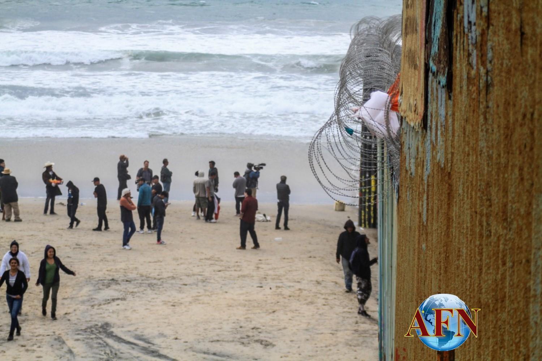 De nuevo intentaron cruzar por Playas