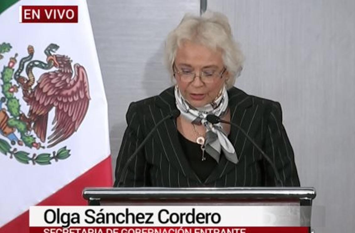 Resultado de imagen para Olga Sánchez Cordero AFN
