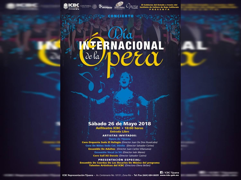Celebrarán Día de la Ópera