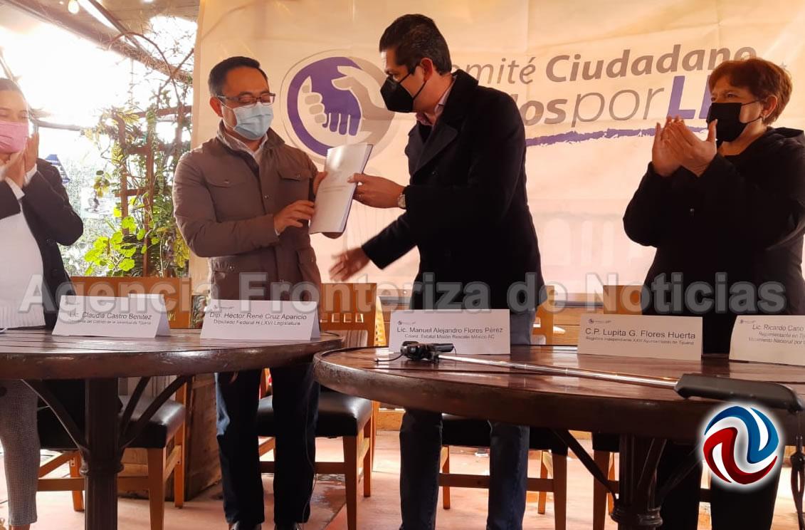 Leyzaola acepta a Hank como candidato a gobernador del PES