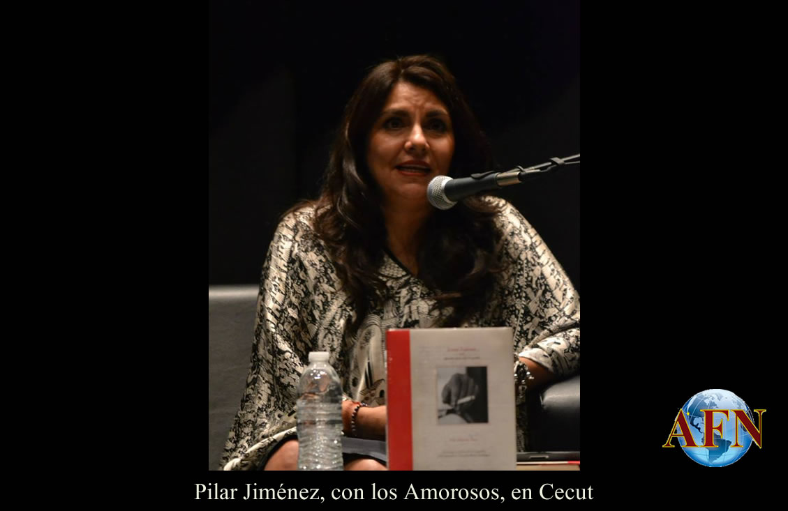 Pilar Jiménez, con los Amorosos, en Cecut
