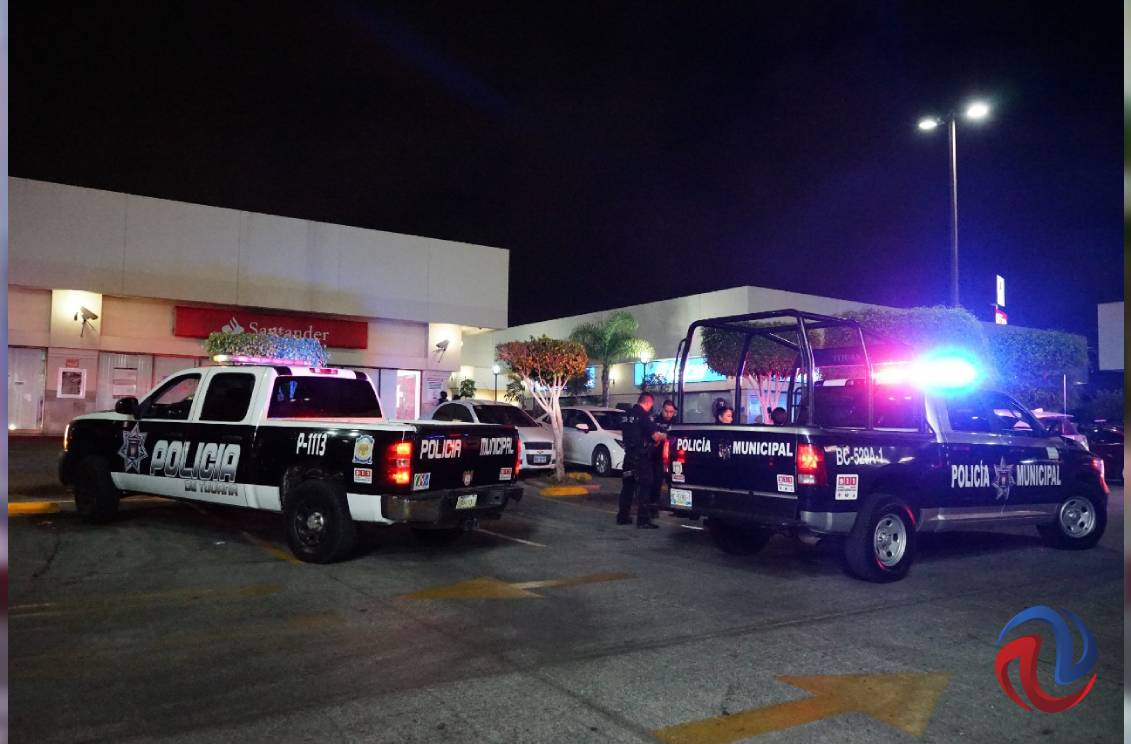 Se registra ataque a tiros en el Centro Comercial de Playas