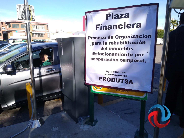 Recupera el Estado estacionamiento de Plaza Financiera
