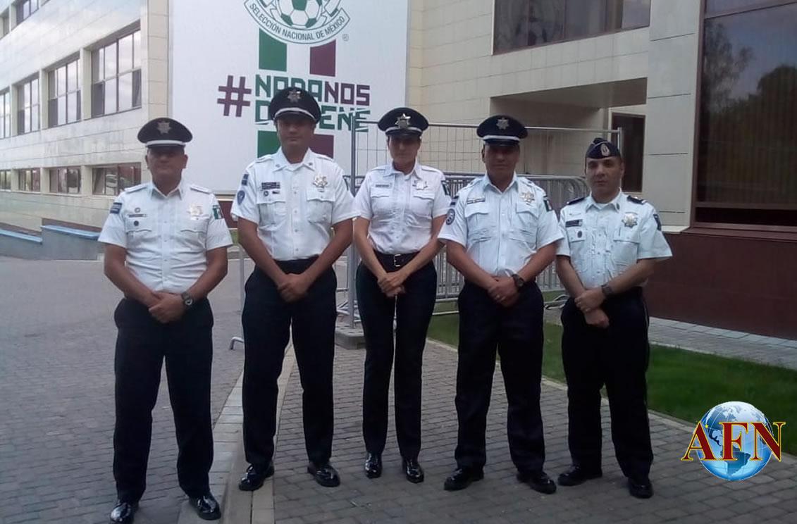 Habrá Policías Federales en el Mundial