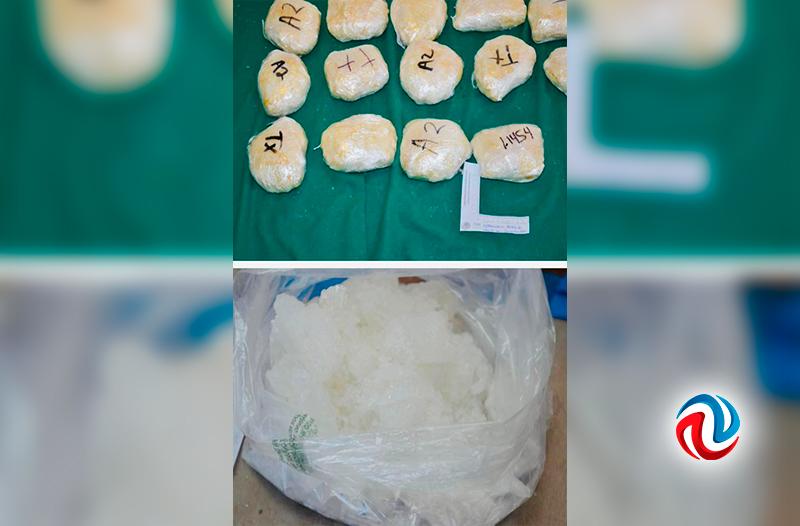 Vinculan a proceso a detenido con más de 600 kilos de metanfetamina