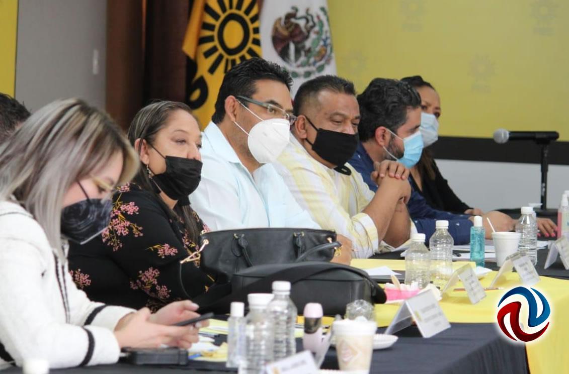 Participará PRD en un frente democrático social: Sarabia
