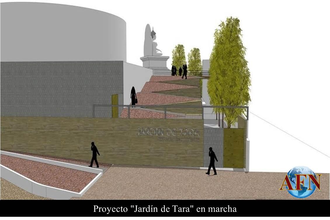 Proyecto jard n de tara en marcha for Proyecto jardineria