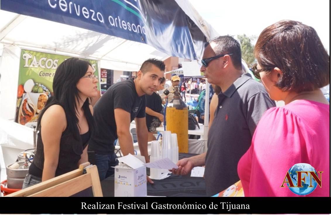 Realizan Festival Gastronómico de Tijuana
