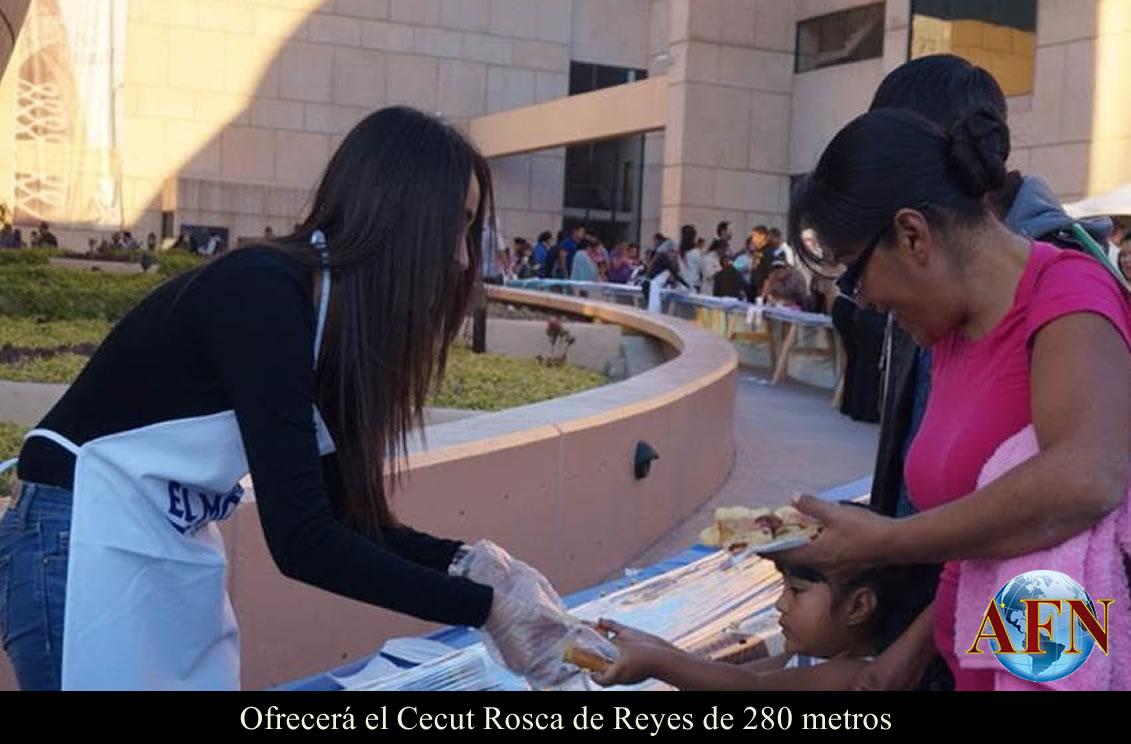 Ofrecerá el Cecut Rosca de Reyes de 280 metros