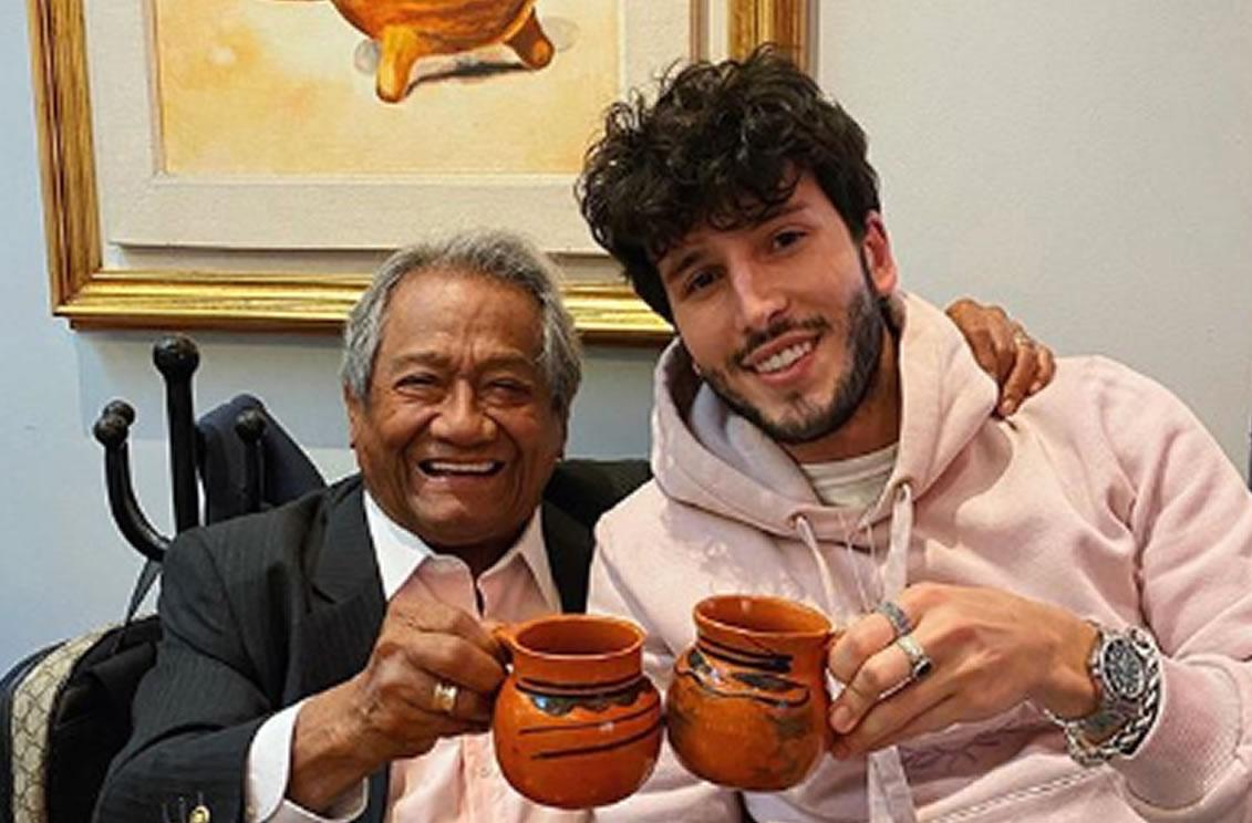 Sebastián Yatra conoció a Armando Manzanero y comió gusanos de maguey