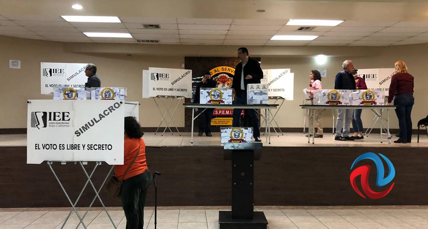 Elecciones sindicales en Mexicali sin incidentes