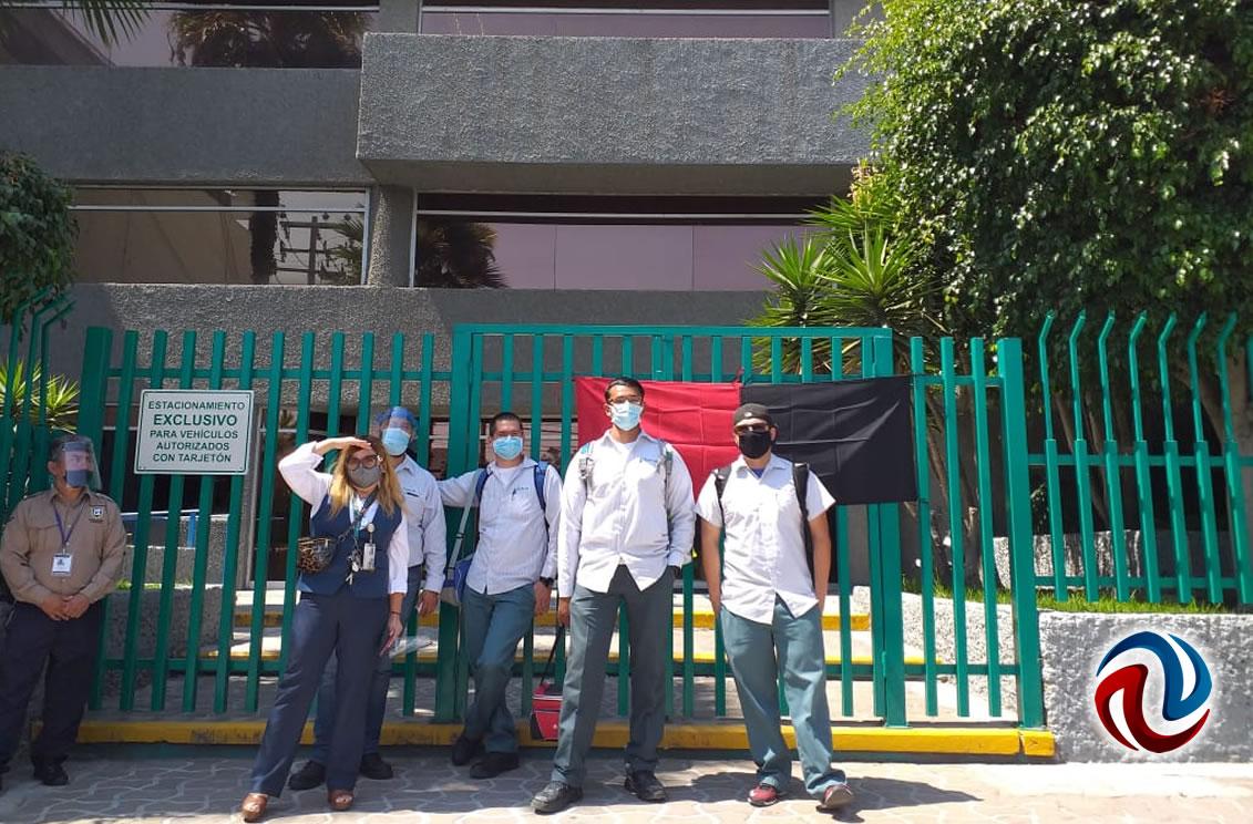 Estalla huelga Telnor, piden respeto a sus derechos laborales