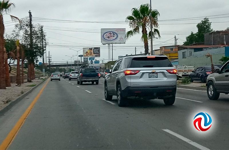 Tráfico lento en Vía Rápida Oriente esta mañana