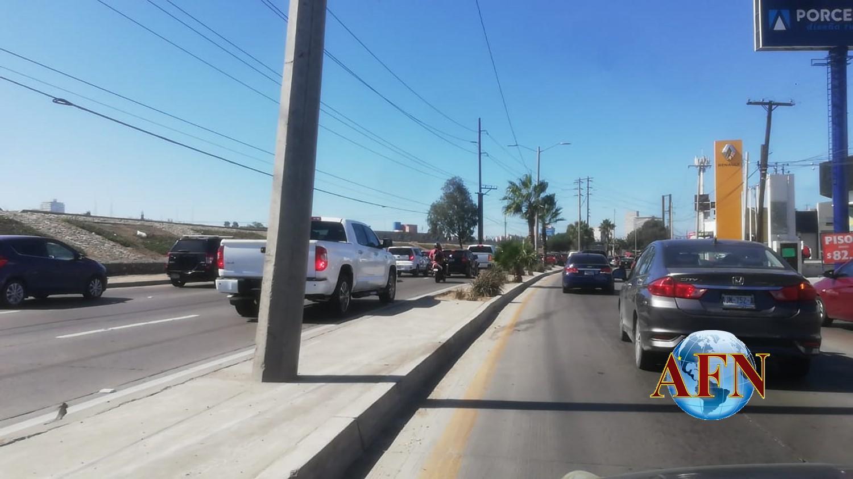 Colma tráfico a la Zona Río