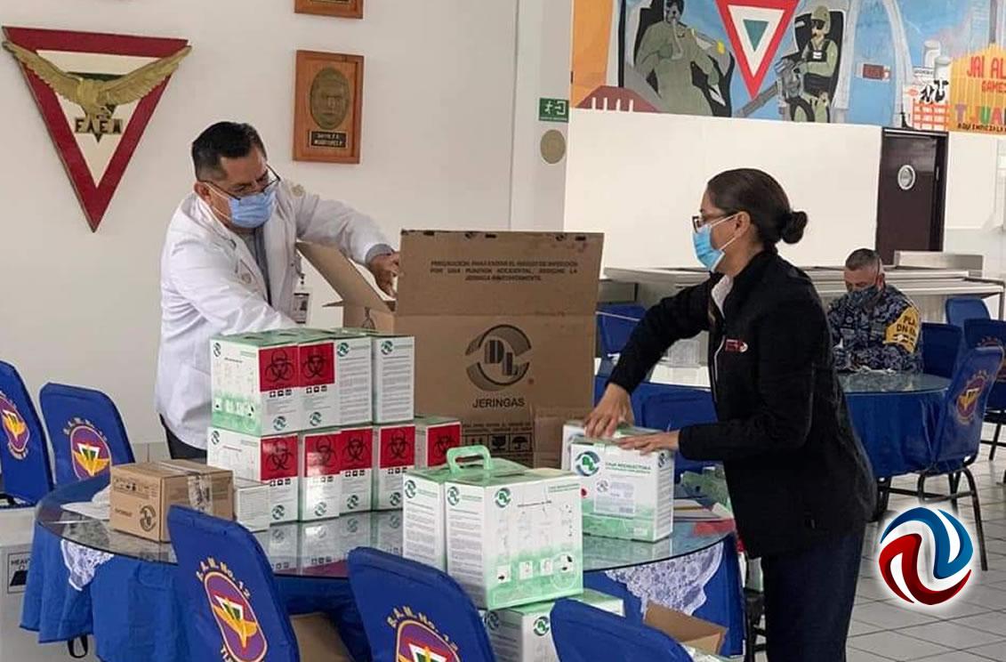 Llega segunda remesa de vacunas contra el COVID-19 a Baja California