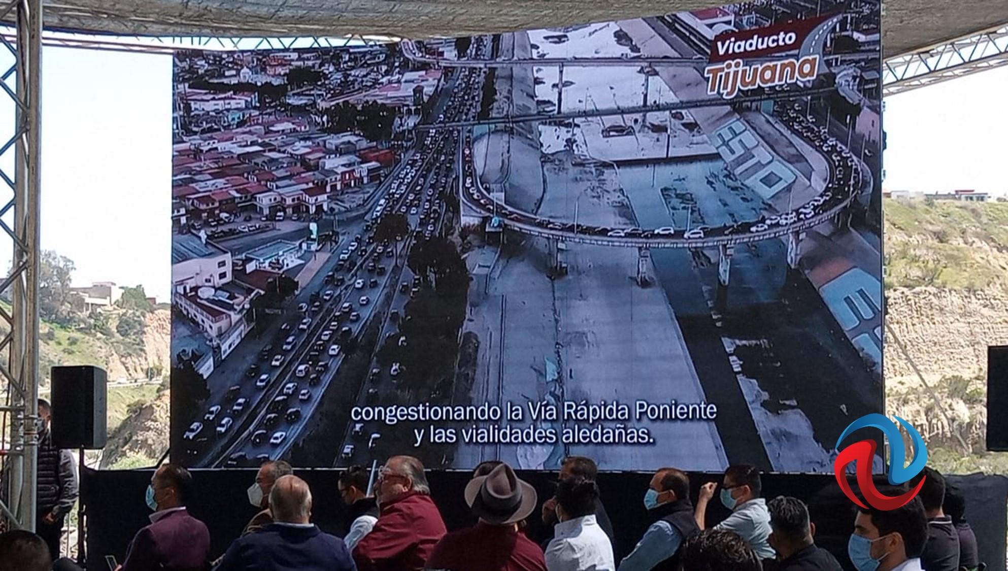 Presentan el proyecto del Viaducto Tijuana