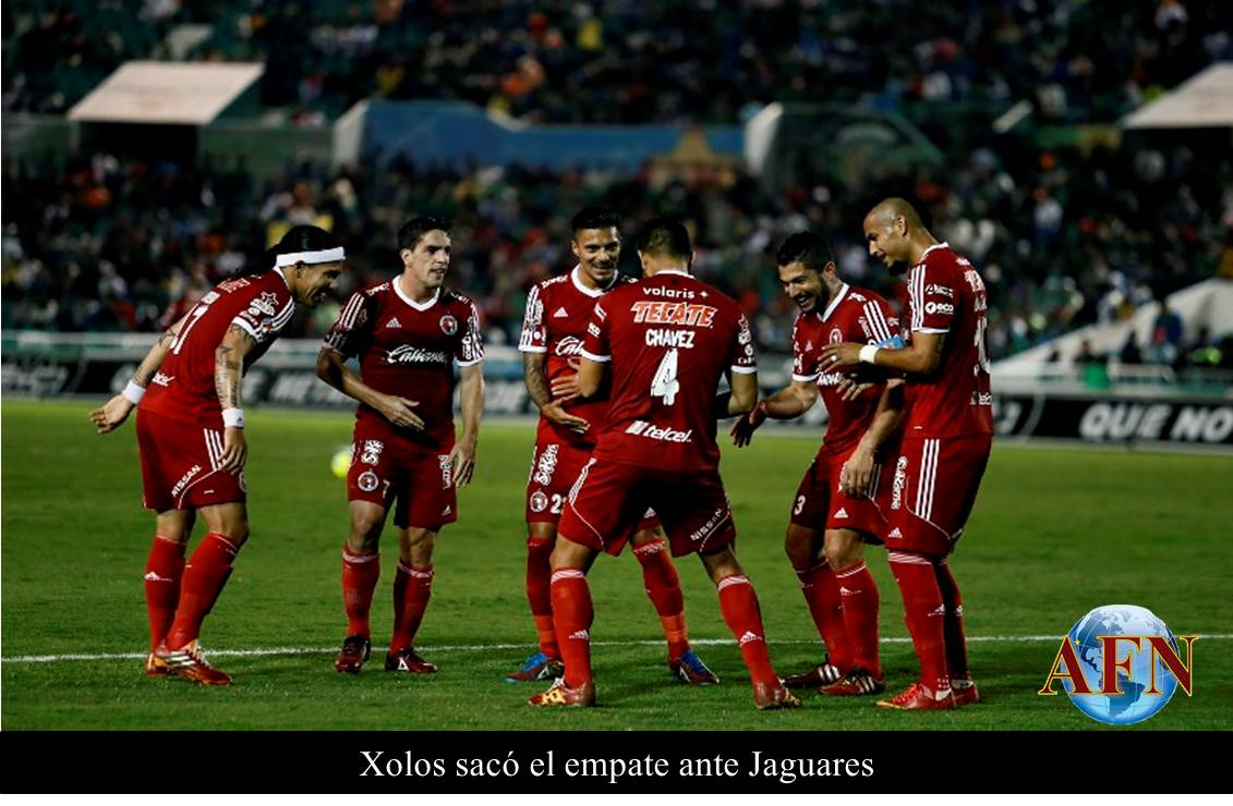Xolos sacó el empate ante Jaguares 3e78c226150c2